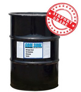 Airport grade coal tar sealer