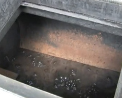 water evaporation in sealcoating tank