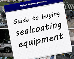Buying Sealcoating Equipment