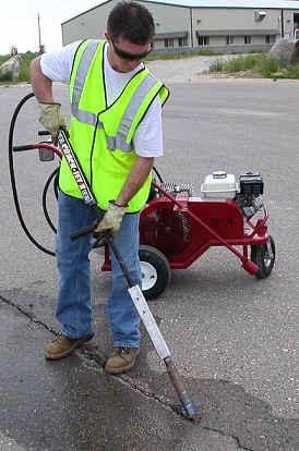 Asphalt crack repair preparing for crack filling asphalt solutioingenieria Image collections