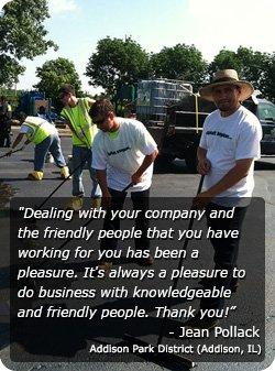 asphalt parking lot repair