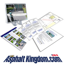 asphalt contractor marketing package