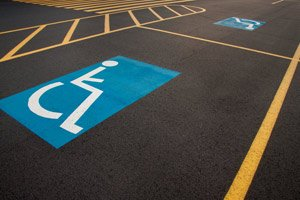 Paint lines on your parking lots