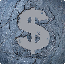 Save money by fixing potholes yourself