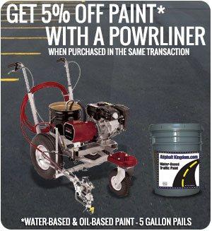 line painting machine hire