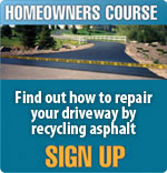 Sign Up For the Free Asphalt Maintenance Course