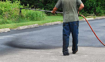 Sealcoat Your Lots with Coal Tar Sealers