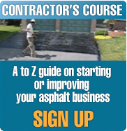 Sign up for the Asphalt Contractor's Course